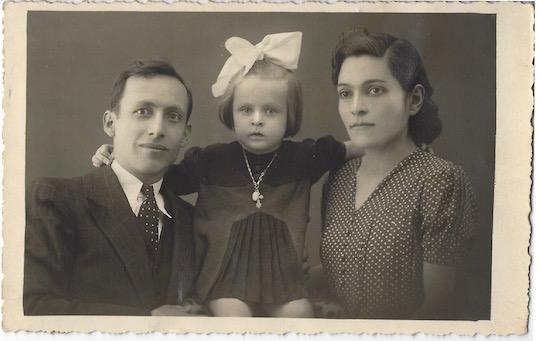pictured: Andranik Donpet Vartanian, Susan Vartanian Barba, Nvart Ordookhanian Vartanian