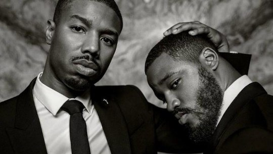 Michael B. Jordan, Grimes, and St. Vincent Describe What It Means To Be A Style Disrupter  . Vanity Fair, 2016. Michael B. Jordan and Ryan Coogler.