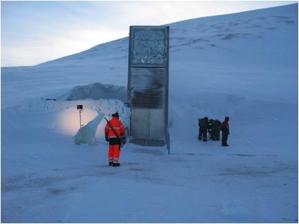 The Svalbard Global Seed Vault in Norway