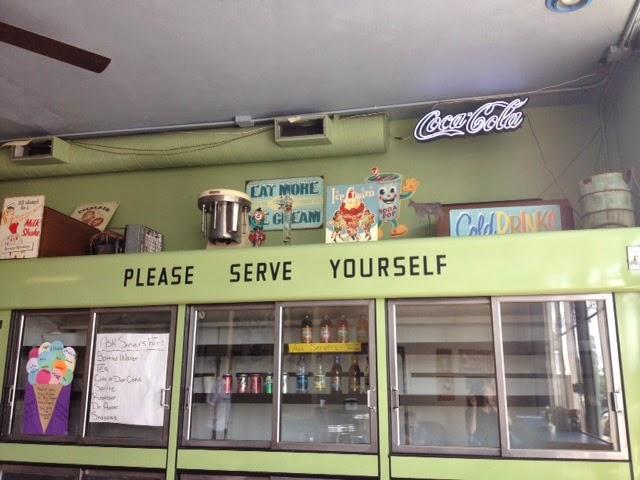Ice cream shop in Laramie, Wyoming