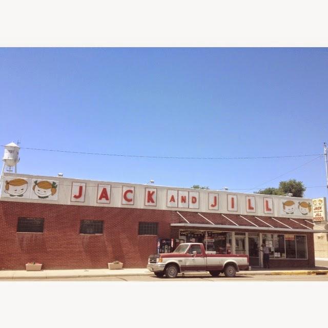 Jack and Jill grocery in Bridgeport, Nebraska