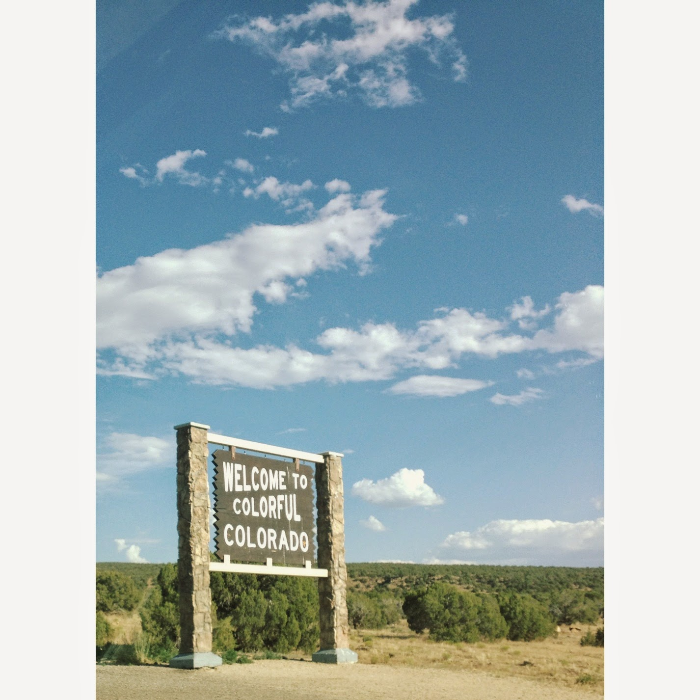 Colorado State sign