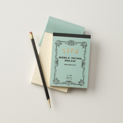 Life has discontinued the full size notepad I use, but this is my go-to for classic stationery.