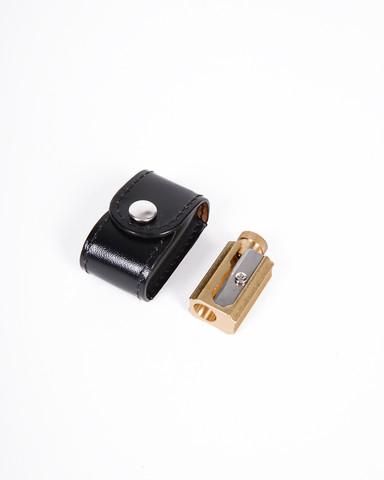 Brass Pencil Sharpener