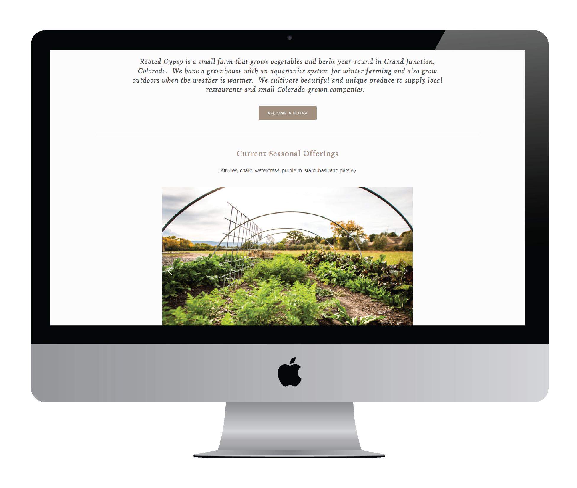 Rooted Gypsy Farms - Farm Food - Eva Moon Press