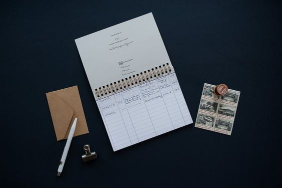 Paper & Type -  The Letter Ledger 2.0, $20.00 . An excellent tool for keeping track of correspondence. I use mine almost daily.  Use discount code EVAMOON for 15% off the entire Paper & Type shop until December 16th.  *Please note: Orders placed in December will be shipped in January.