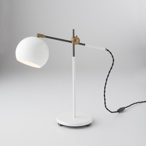 Schoolhouse Electric & Supply Co. -  Studio Desk Lamp, $249.00 . Keep your desk well-lit for letter writing.
