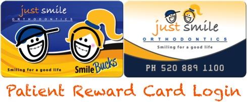 Patient Reward Card Login