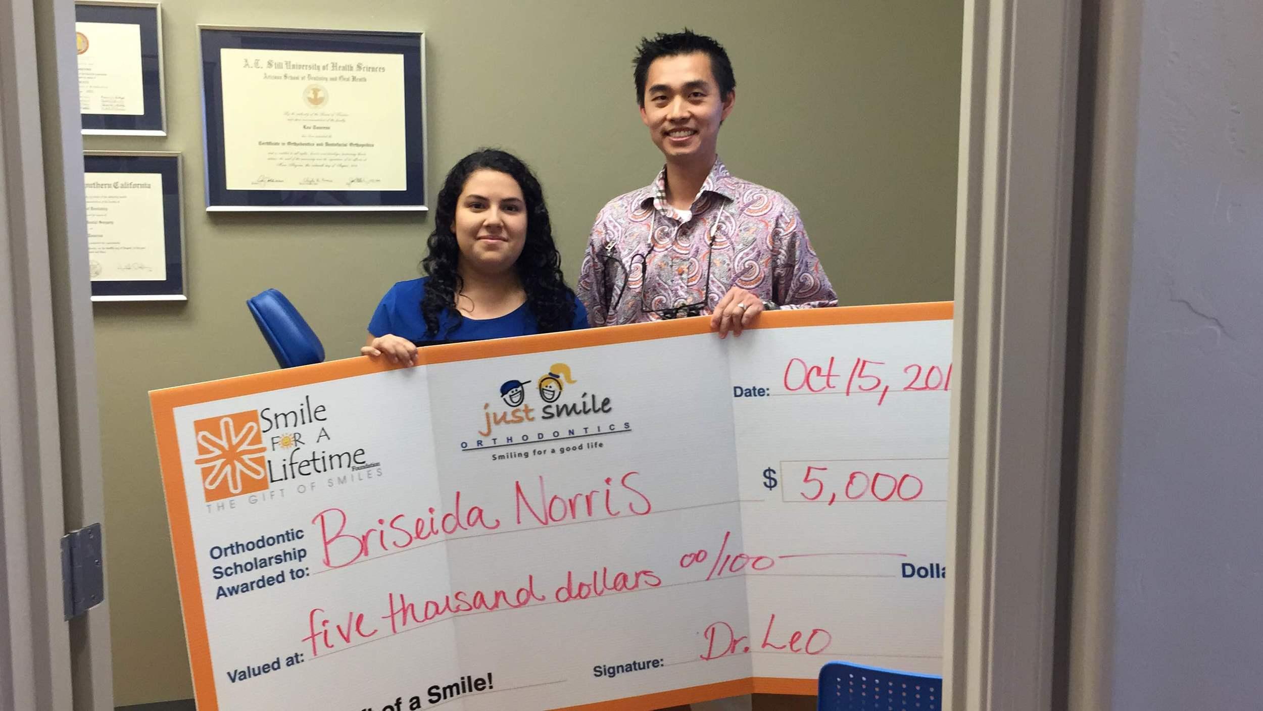 Congratulations S4L Scholar Briseida!
