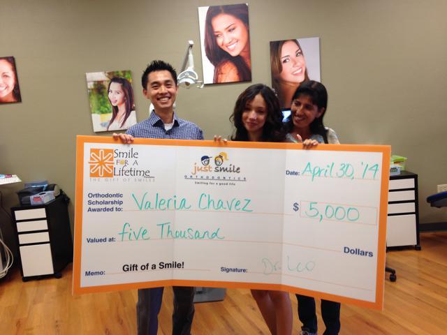 Congrats Valeria, our first S4L Scholar
