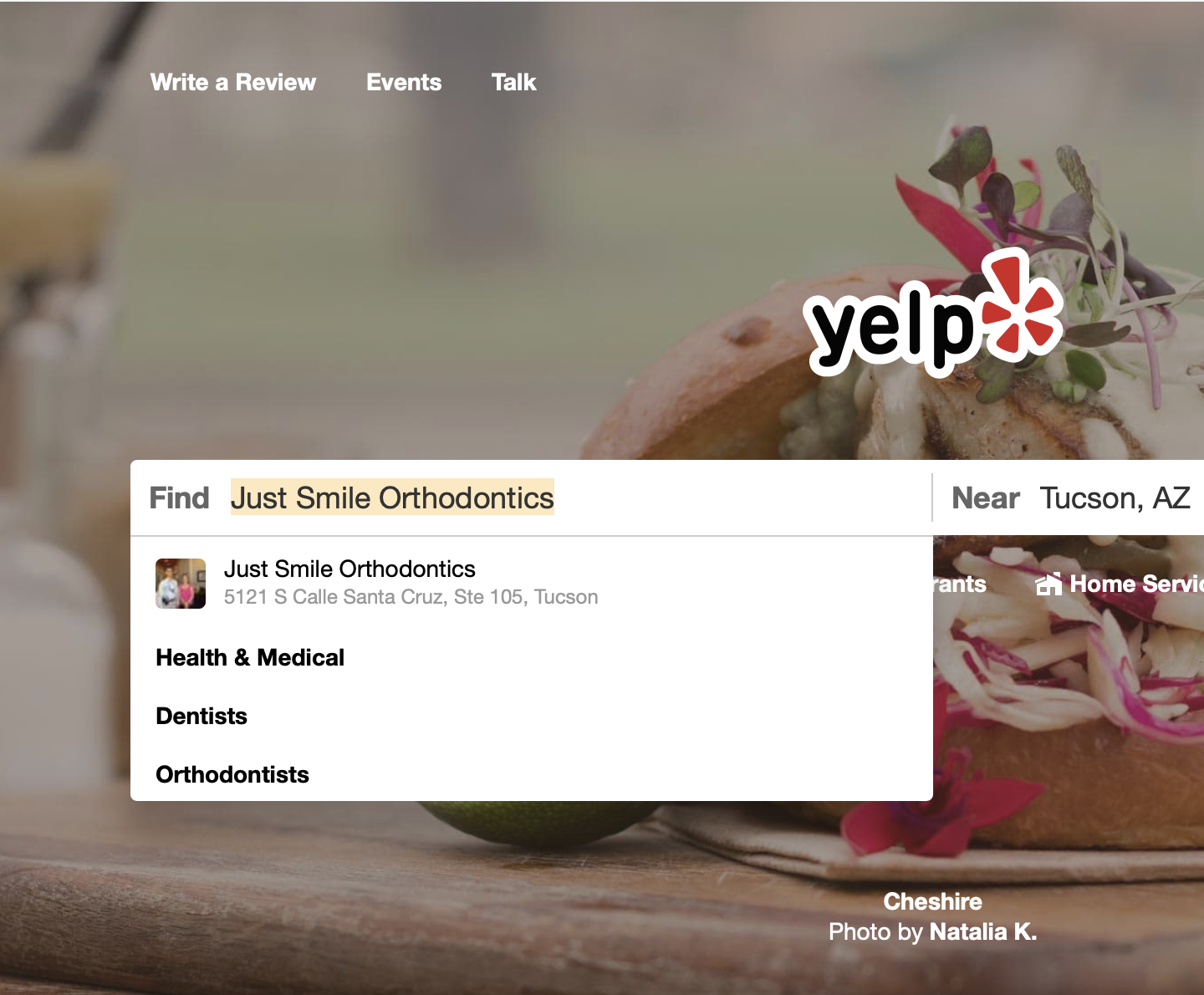 Yelp Review Just Smile Orthodontics Tucson