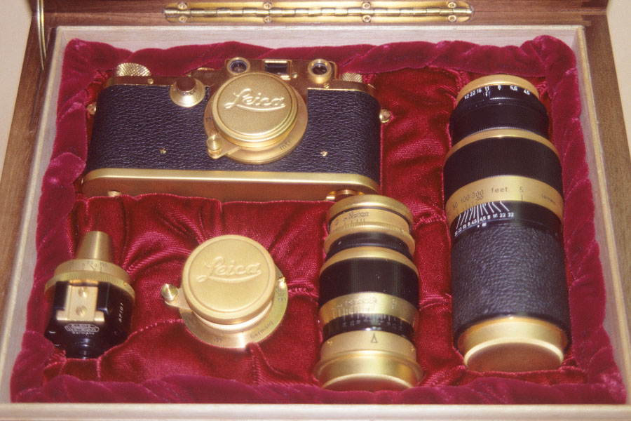 Leica Gold Set