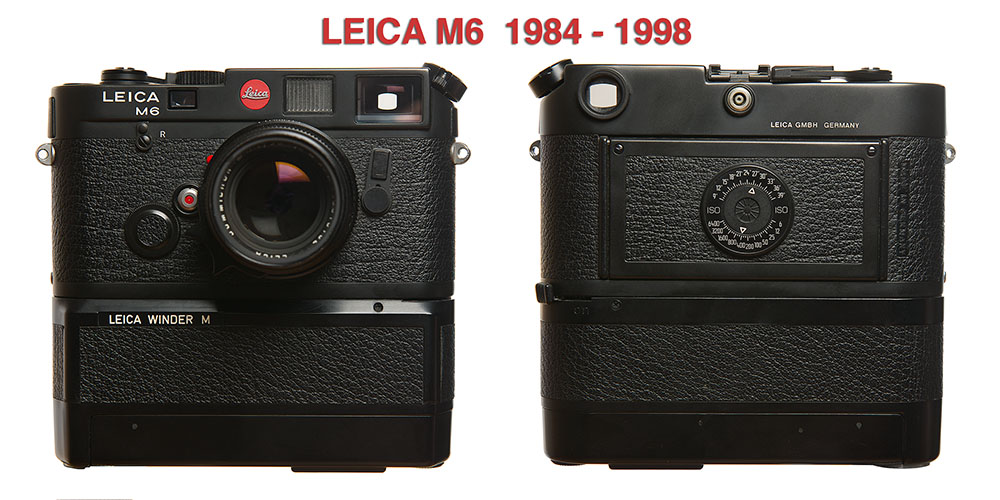 Leica M6 and Winder M