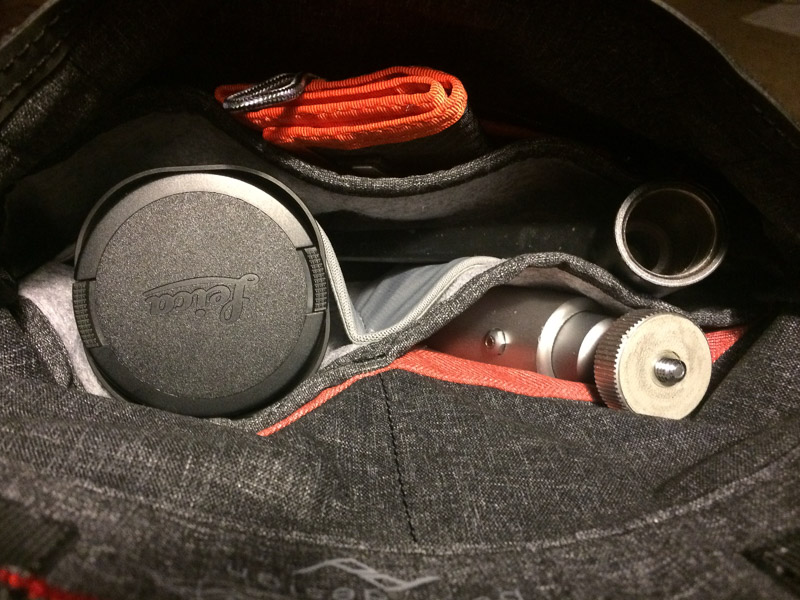 Peak Design Field Pouch with Leica Equipment