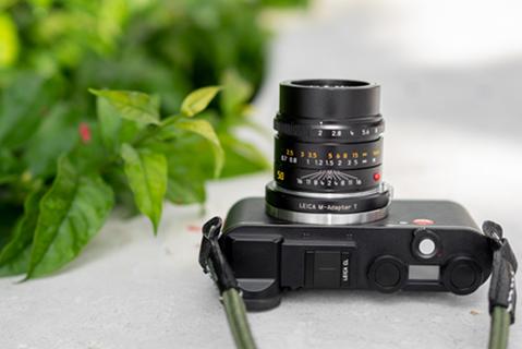 Leica CL with M adapter © Kirsten Cita / Leica Store Miami