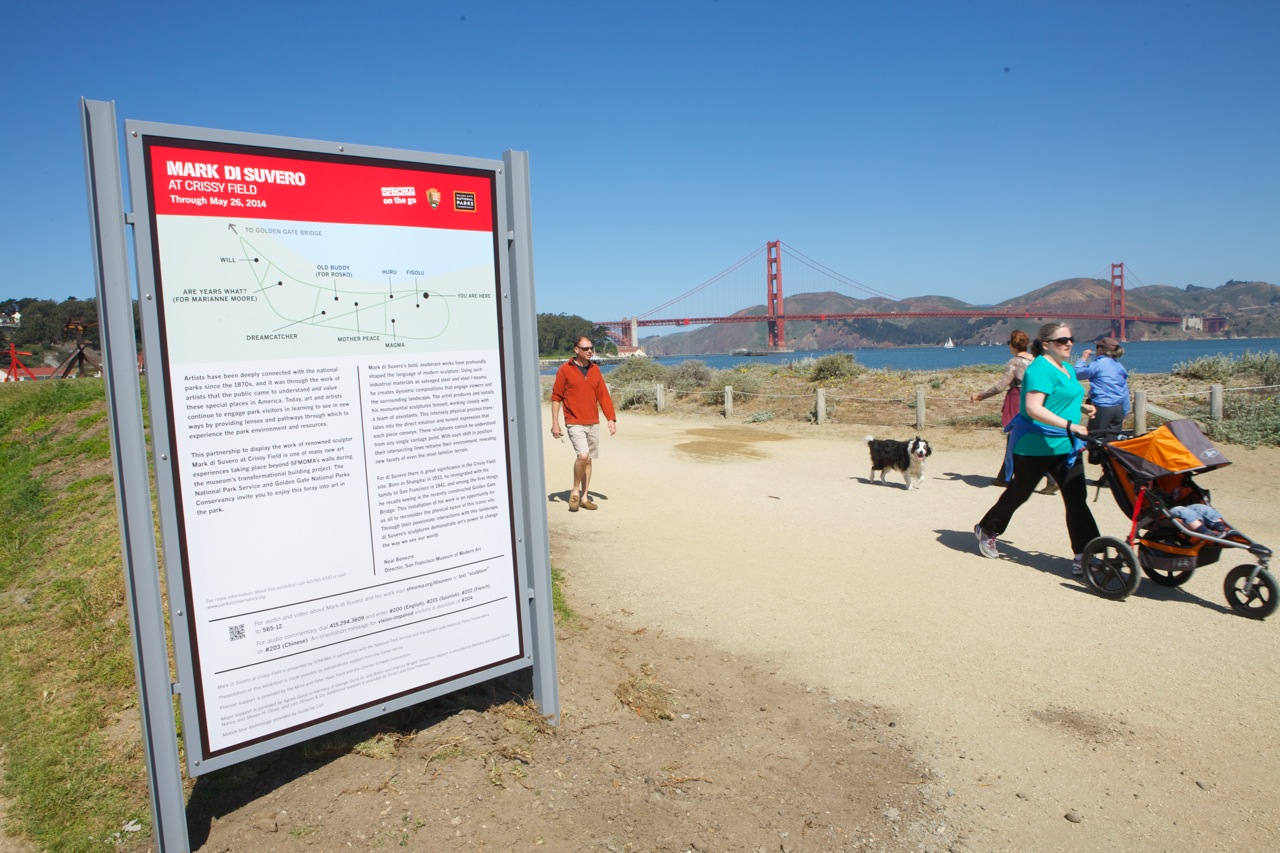Mark di Suvero at Crissy Field