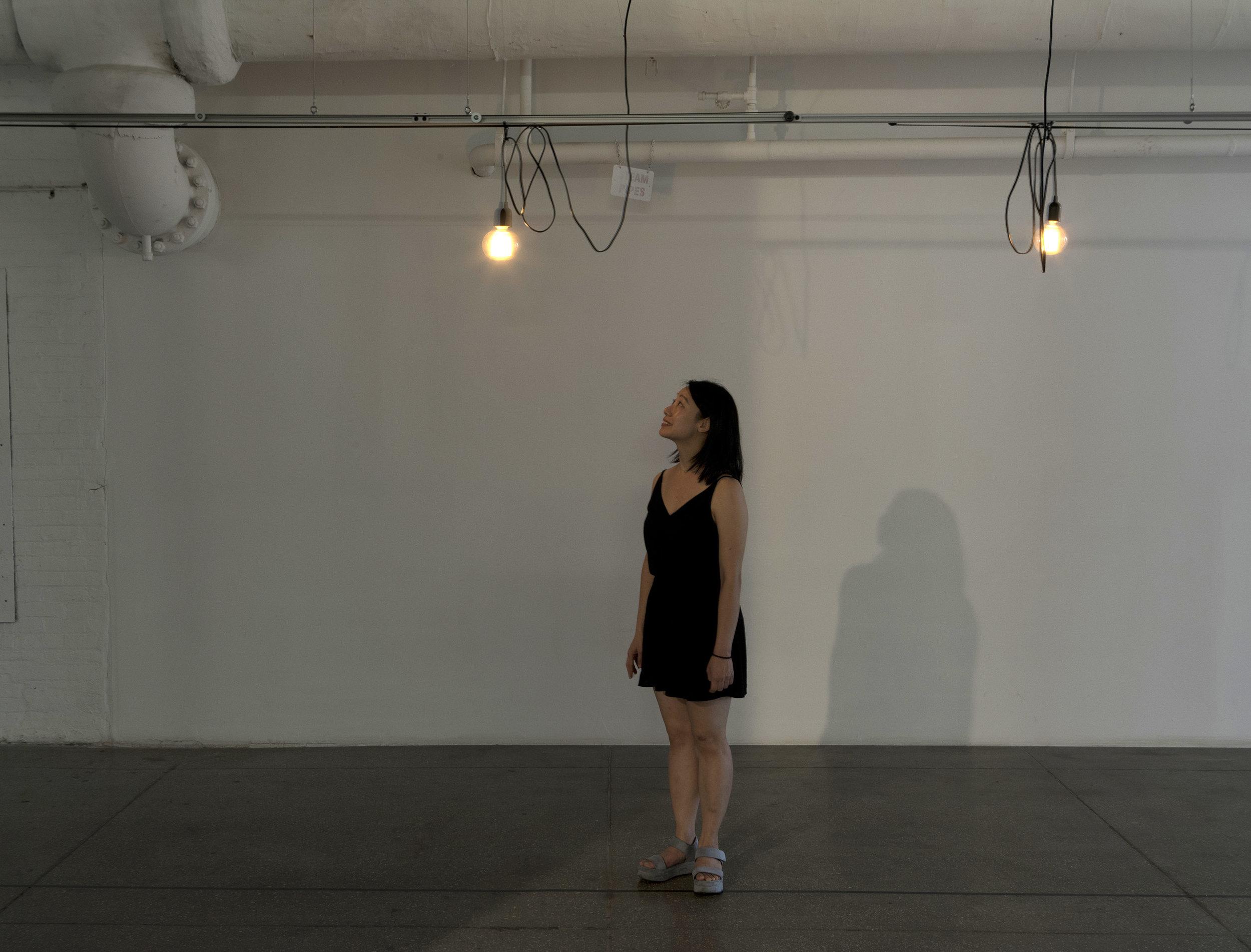"Yeseul Song ""Illuminated Path""- Photo : John Behrens"