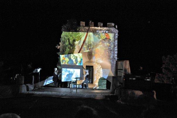 Multidisciplinary performance piece, Labro, Italy
