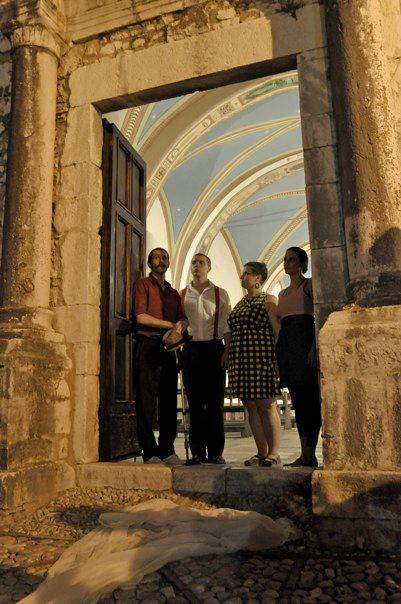 Gregorian Chant installation, Labro, Italy