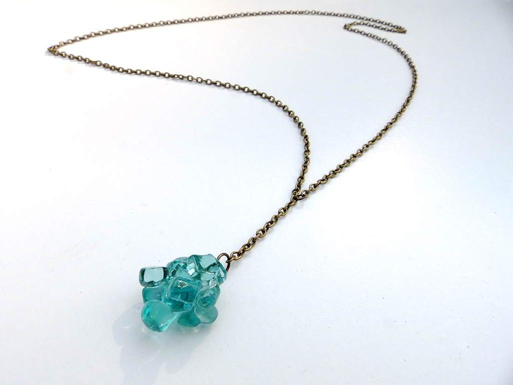 Stream Ice Cluster Necklace