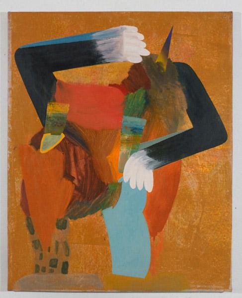 "Swamp , 2012, oil on canvas, 30""x 38"""
