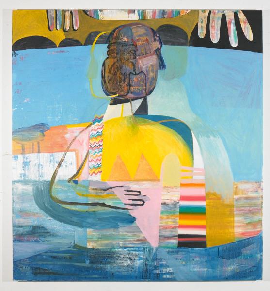 """In a Deep Lagoon , 2012, oil on canvas, 52"""" x 56"""""""