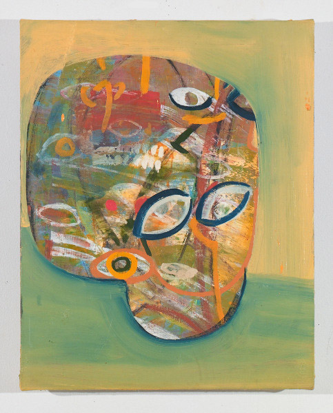 """I Am the Noise in Your Head , 2012, oil on canvas, 20"""" x 16"""""""