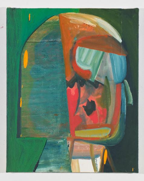 """Decoder , 2012, oil on canvas, 20"""" x 16"""""""