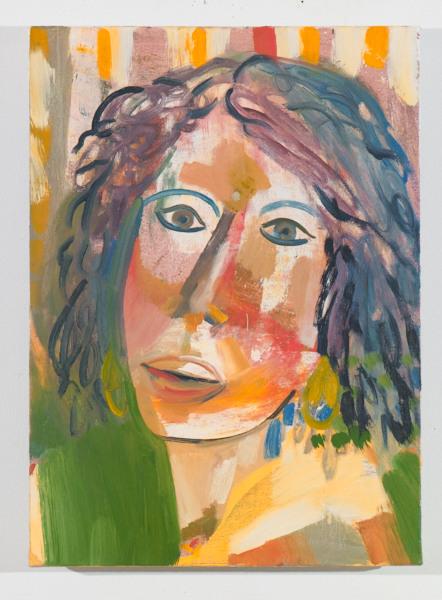 "Kate II , 2012, oil on canvas, 20"" x 16"""