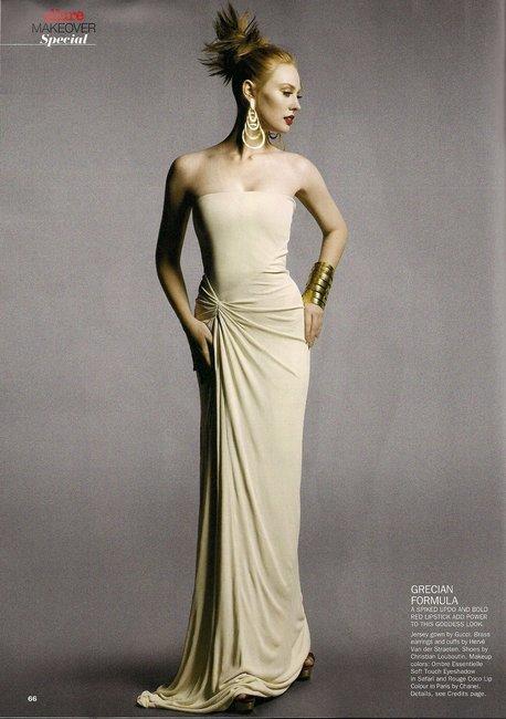 Allure Magazine - January 2011 - Deborah Ann Woll