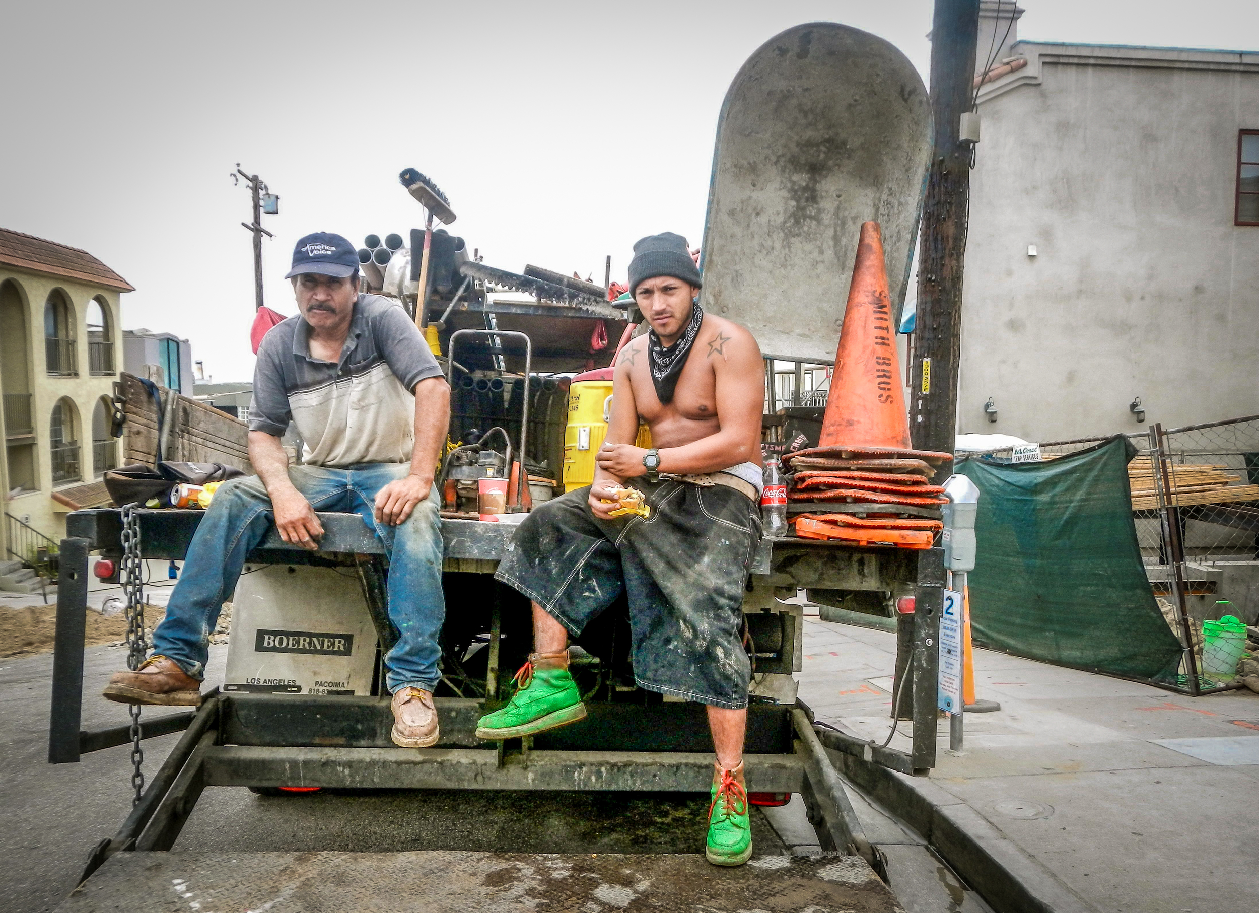 Hector and Tomas - Construction Workers - Durango, Mexico.