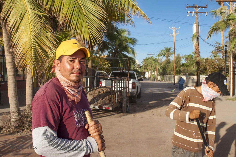 Loreto, Mexico - Hurricane Odile.