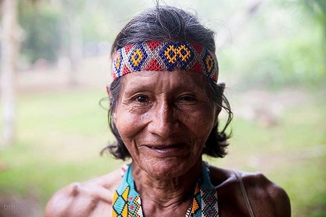 📷@brent.alex  Today is World Indigenous People Day.  I'm fascinated by indigenous people from all over the world; how the live, why their way of life is so important to them, religious and spiritual practices, what lessons can be learned from them..... Darien Jungle, Panama - Shielded from a passing tropical rainstorm by a palm thatched roof, visitors to this Emberá village scattered, allowing me to capture this shy Emberá elder who permitted me just one photograph.  When conditions get rough, I find it's the best time to head the opposite direction of others. The story, the moment and mood all change in favor of the persistent aggressor.  #brentalex  __________________________________ #photojournalism #portrait #travelphotography #panama #jungle #indigenous #culture