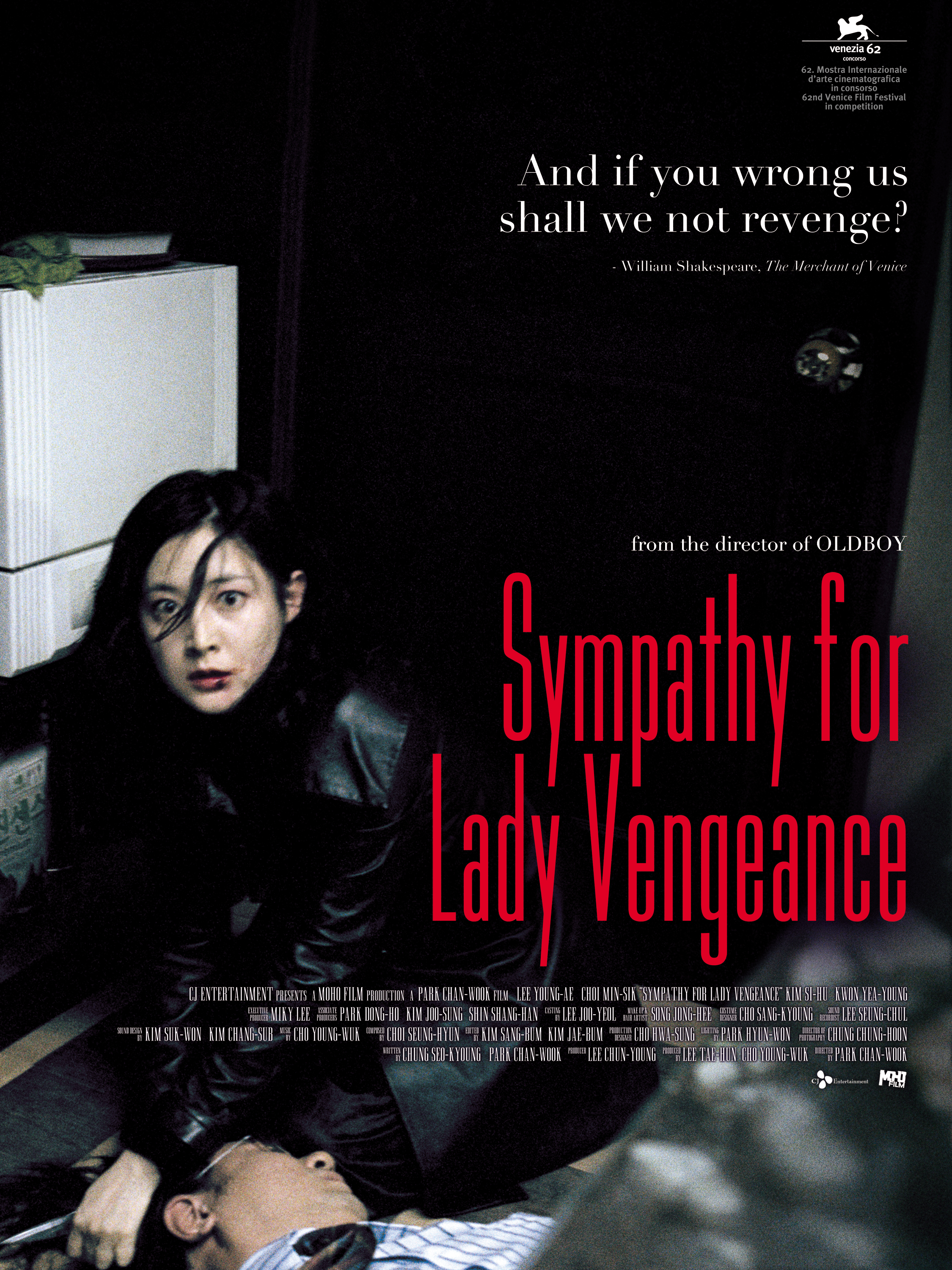 Sympathy For Lady Vengeance Cult Projections