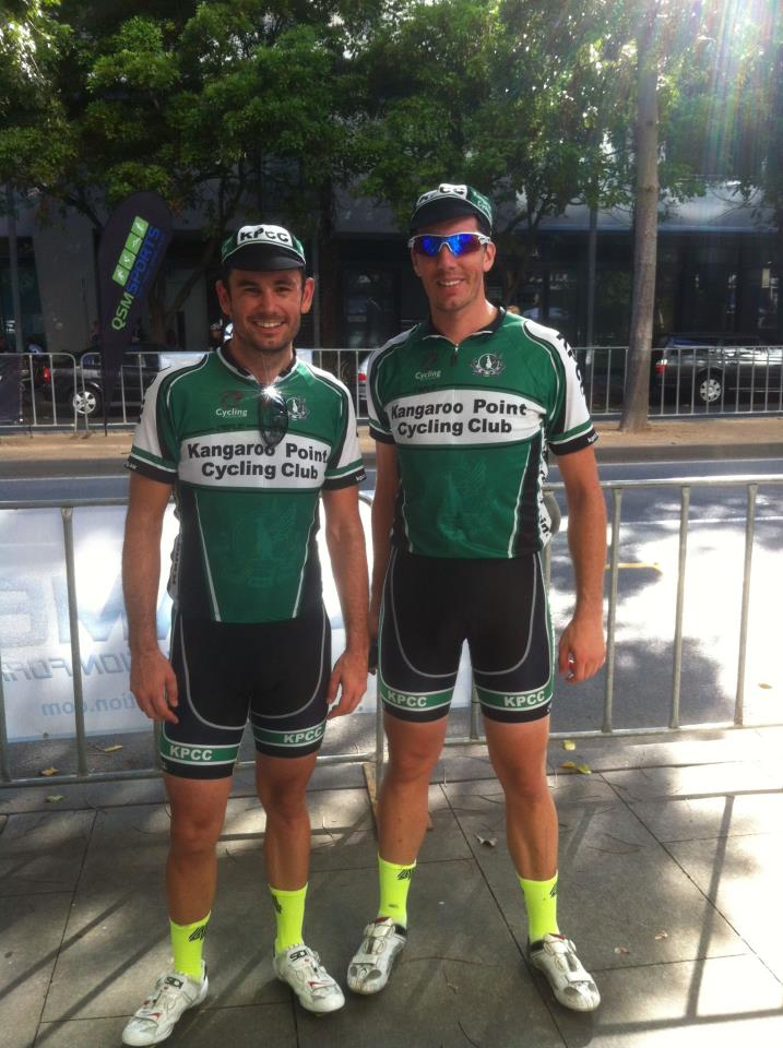 It's a TeamKP 1 & 3 at the @QSMracing Brisbane Blast! It's going to be a very green, white and black podium to start the season!