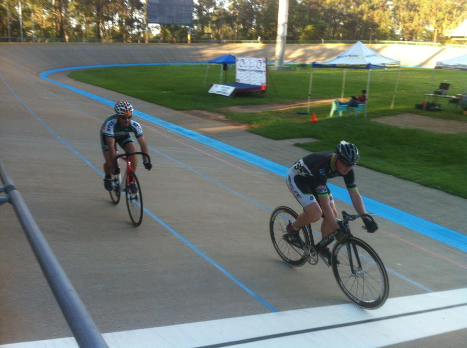 TeamKP's DaveM puts in a masterful performance in the Quarters, reminiscent of Anna Meares in London (in our opinion) to advance through to the Semi's! #QLDmasters