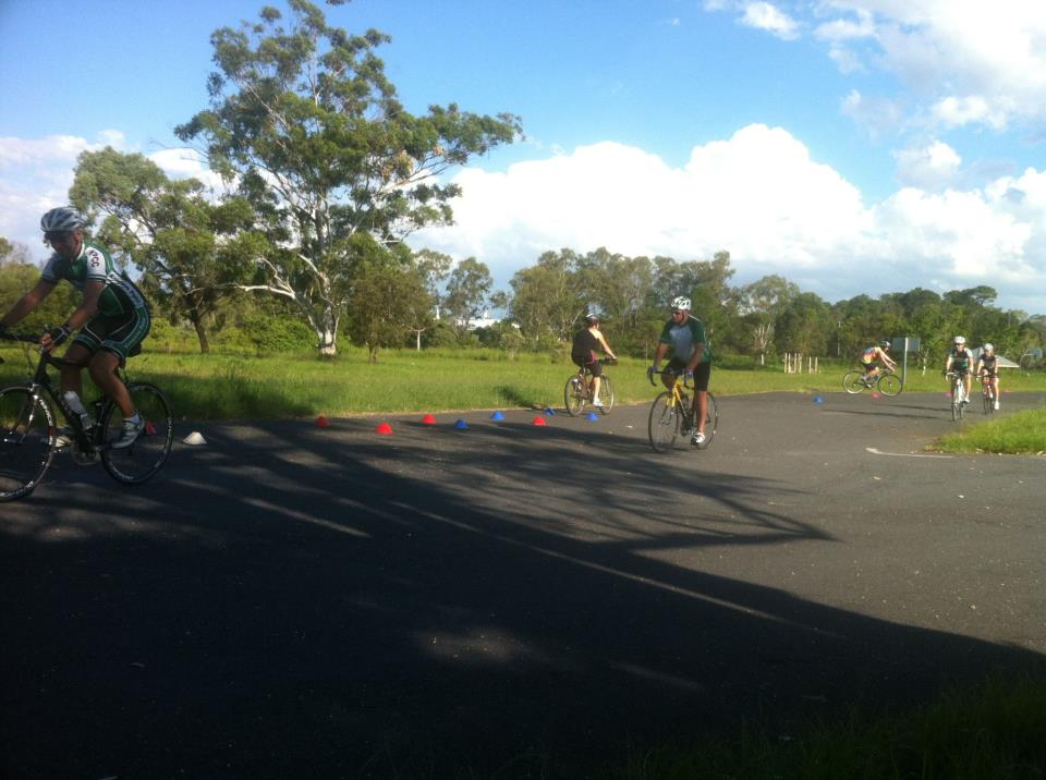 Our first Cycle Skills Course is underway at Murrarie. Jacinta, David & Aaron are doing a great job sharing their skills and knowledge with the group. It looks like great fun!    — with  Melka Pullar  ,  John  ,  Ruth  ,  Aaron Urquhart  and  Jacinta  .