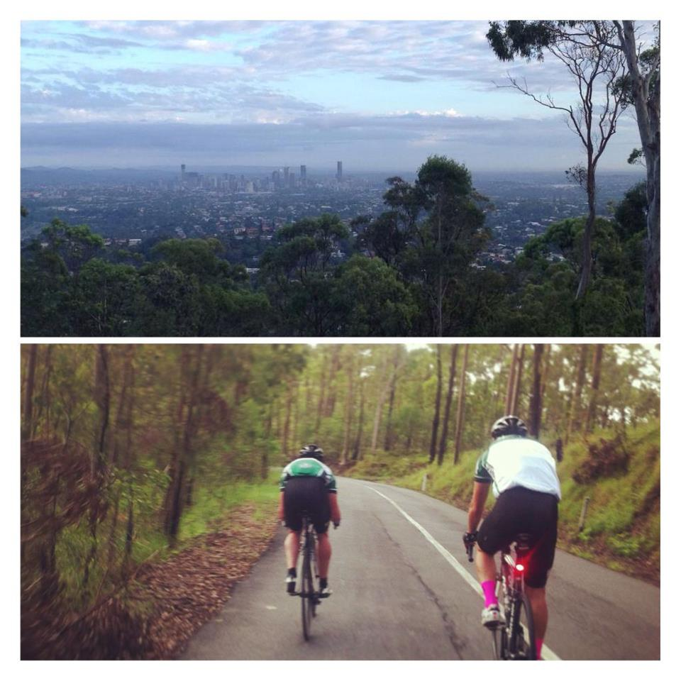 TeamKP divided to conquer both Mt Gravatt and Mt Nebo today!     — with   Dominic Doan  ,   Kieran Heinze  ,   Scott Bishop  ,   Cameron Hemming  ,   Claire Hemming  ,   Tom Cassingham   and   Lars Bendall  .