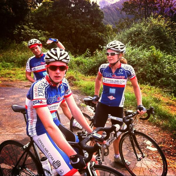 ‏ @ QSMRacin   g  :   Big day out at the Scenic Rim w  @ KangarooPointCC