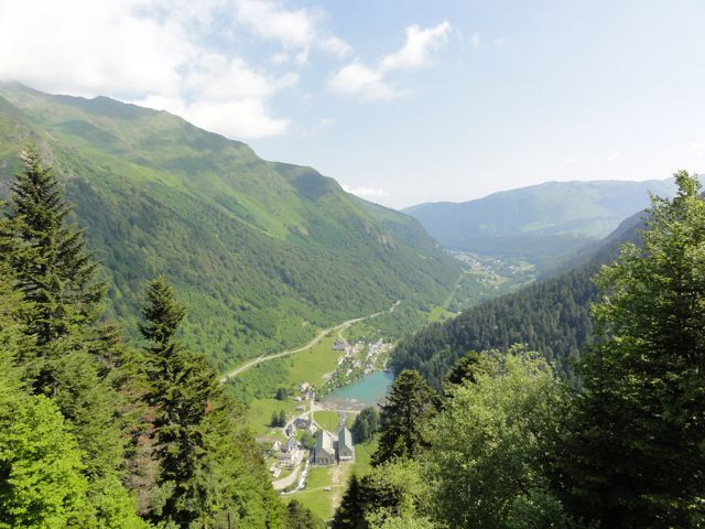 The climbs are incredible. One minute you're in the valley, the next your are well up the mountain... incredible views!
