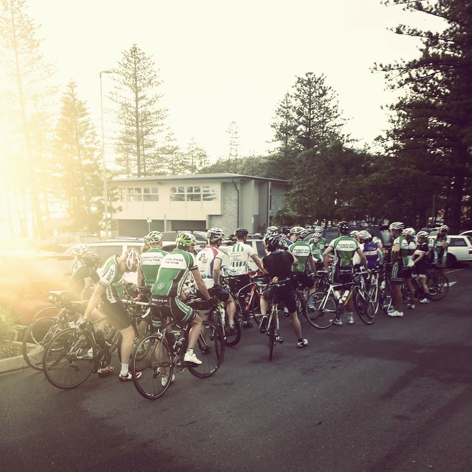 Heading off from Burleigh Heads.