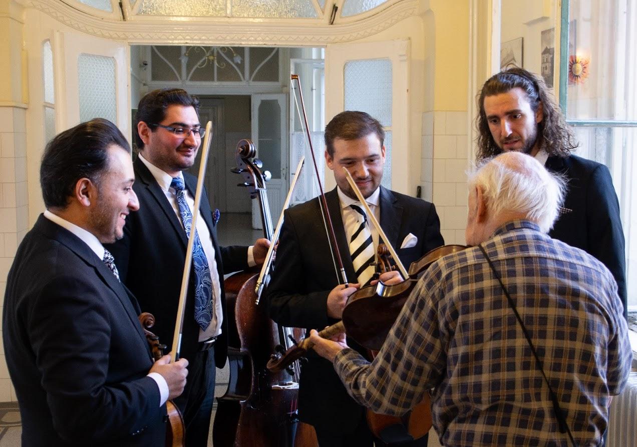 Copy of Kállai Quartet és Konrád György brácsaművész
