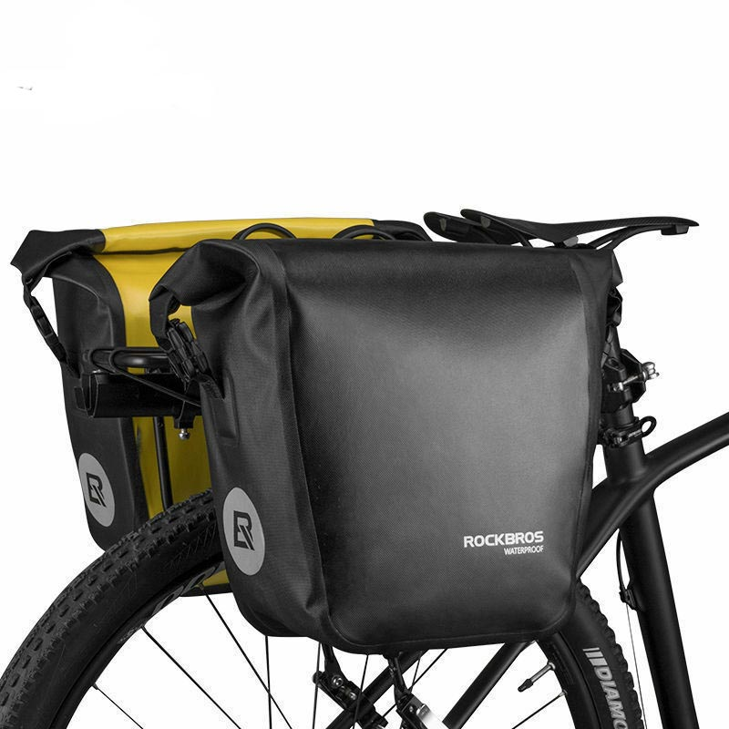 MTB Mountain Bike 7ltr Rear Seat Rack Trunk Bag Pack Pannier Carrier Waterproof