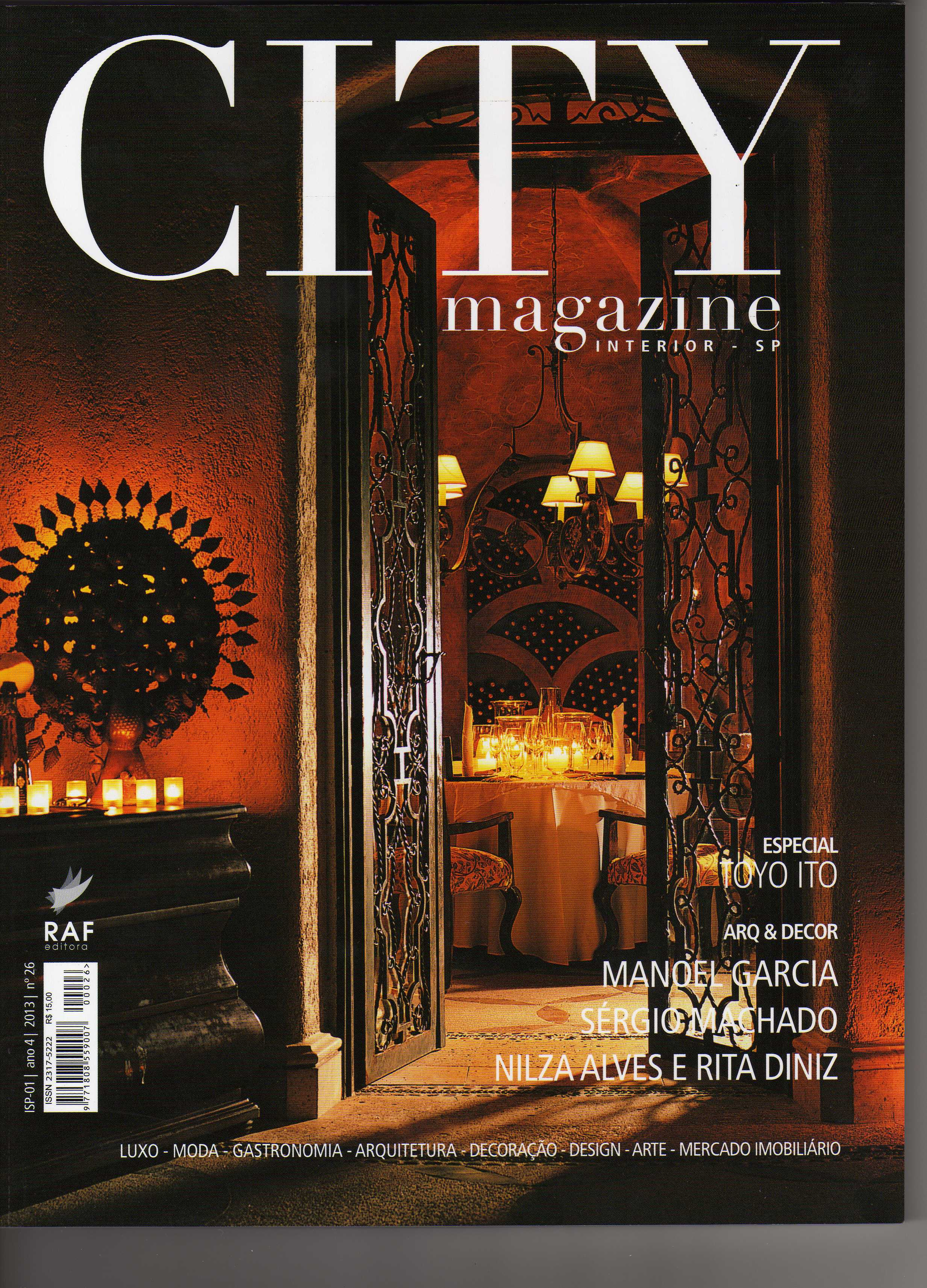 Revista City Magazine - Agosto de 2013