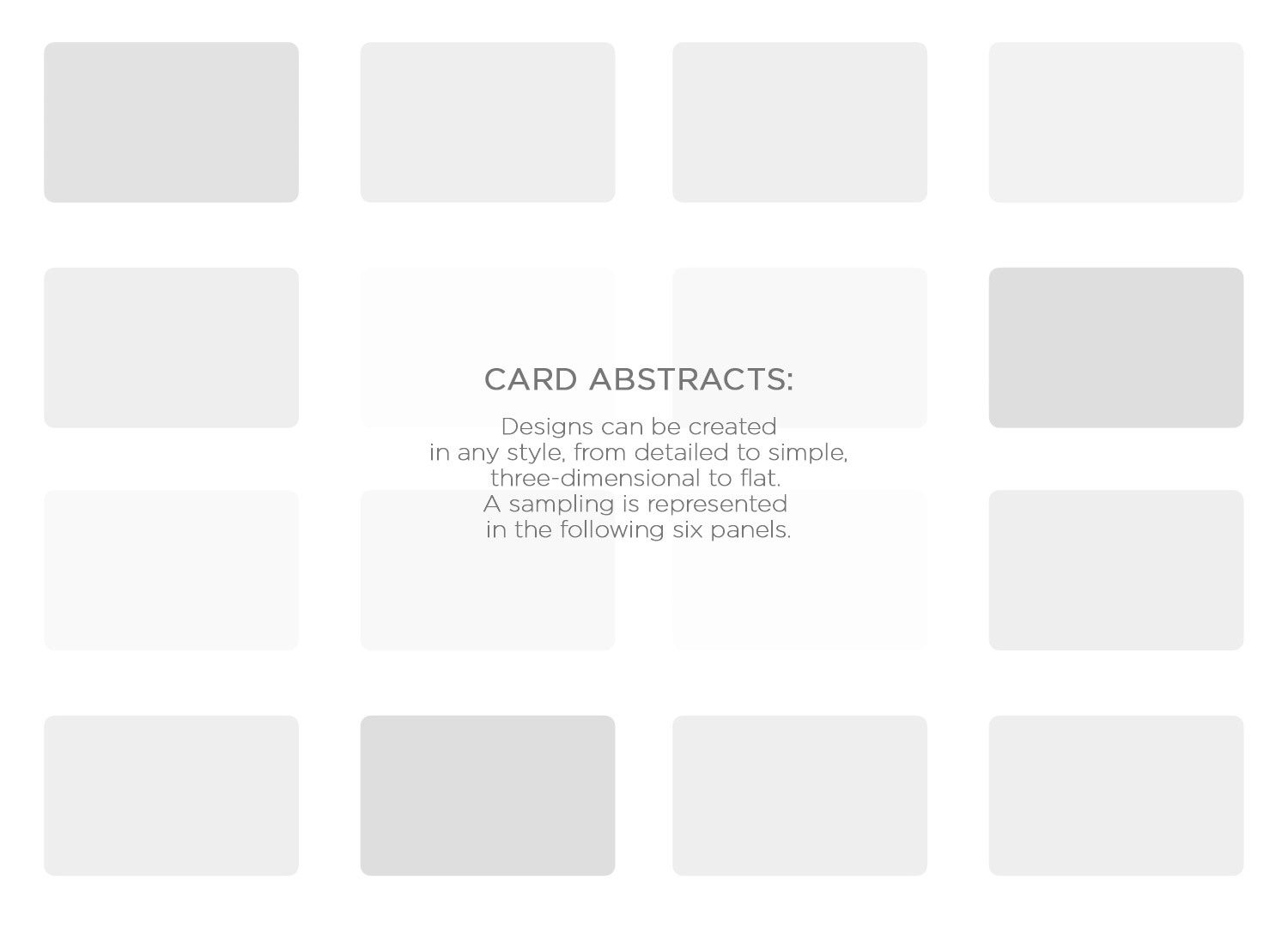 card abstracts