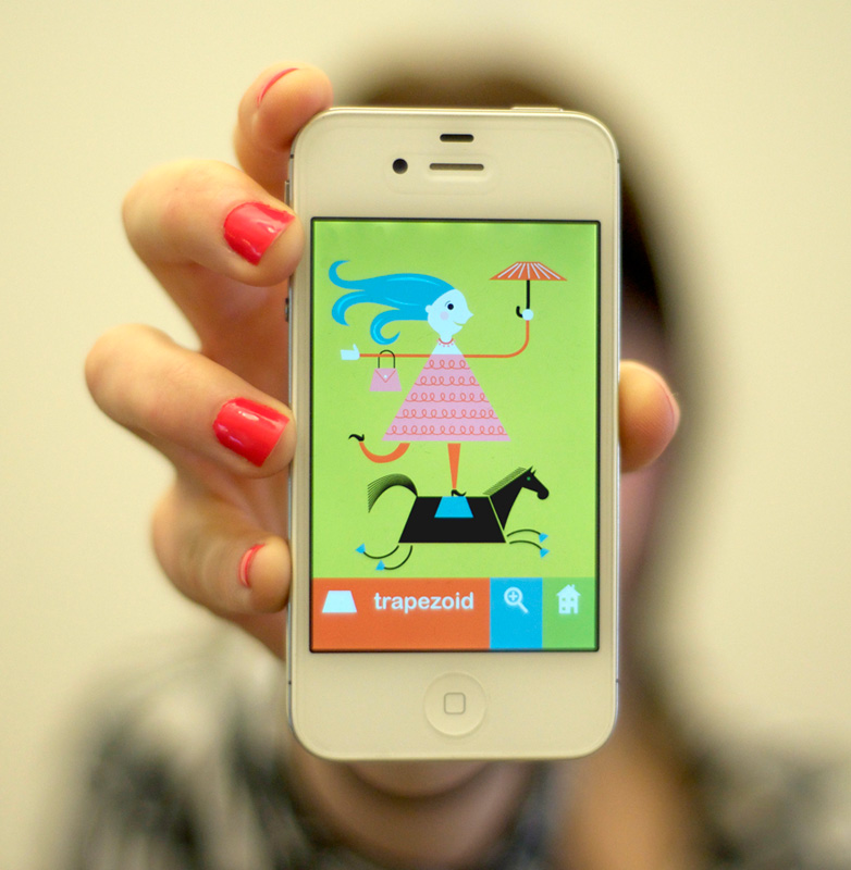 Presto Bingo Shapes for the iPhone