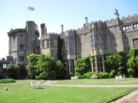 Thornbury Castle's privy garden – it was like stepping back in time.