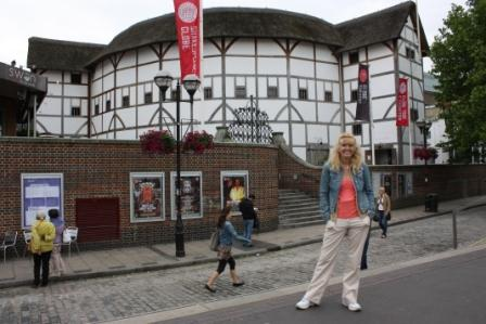 The replica of Shakespeare's Globe Theatre in London – we went to a play here and it's definitely the most fun you can have in London for 5 pounds!