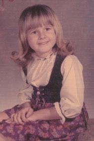 Toni at age 7.