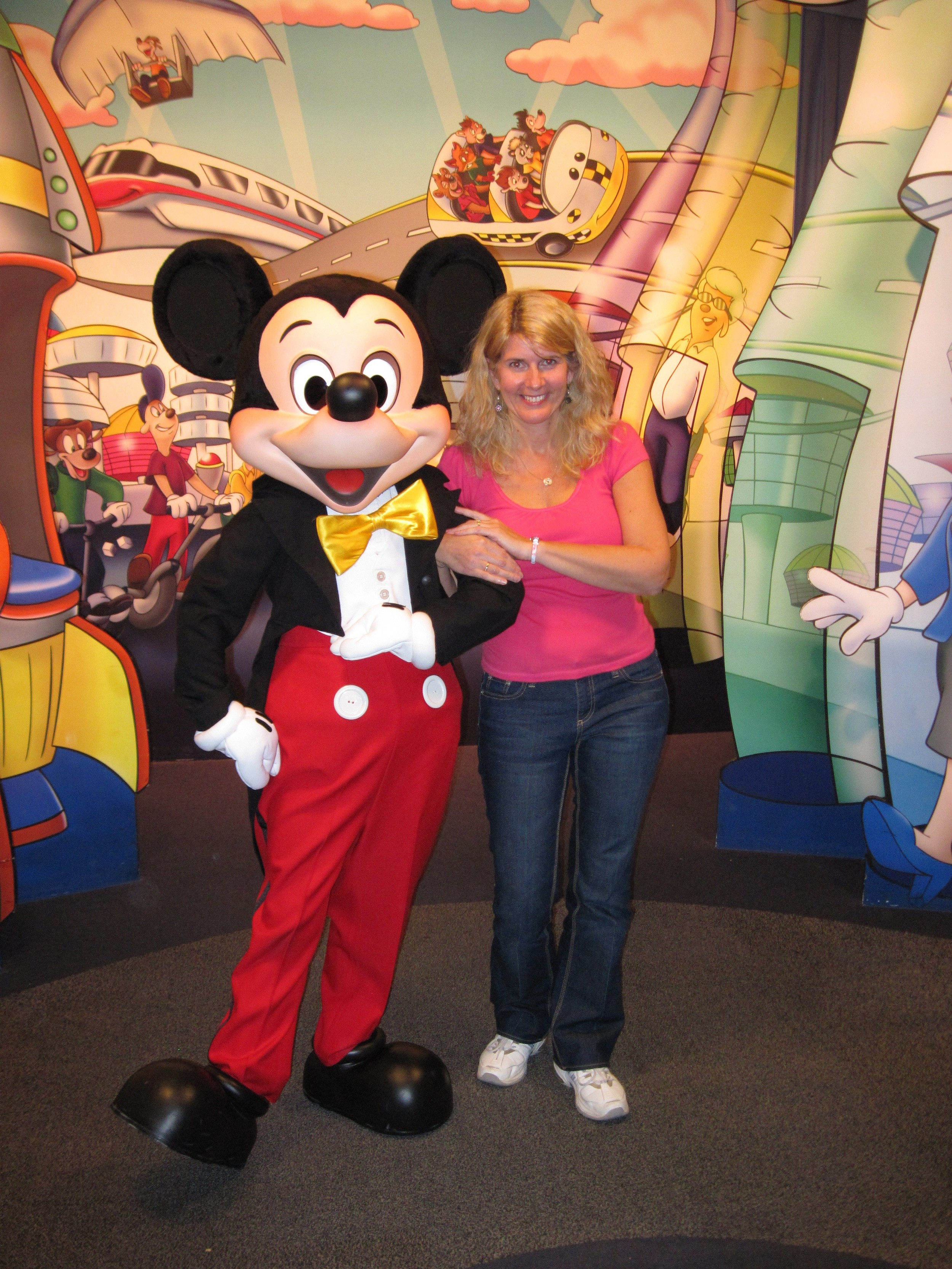 Yes, I met the mouse himself at Epcot.